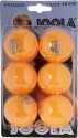Joola Rosskopf Champ Table Tennis Ball - Pack Of 6, Orange