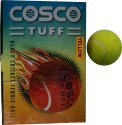 Cosco Tuff Cricket Ball - Pack Of 6, Yellow