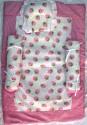 Love Baby Bedding Set - Pink