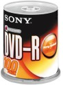 Sony DVD-R 100 Pack Spindle - Pack Of 100