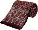 Little India Jaipuri Print Cotton Single Bed Razai Quilt Modern Ethnic Quilt - Single