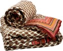 Little India Jaipuri Pure Cotton Double N Single Bed Quilt Set Modern Ethnic Quilt - Double