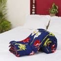 Aapno Rajasthan Tiger Lilies Digital Print Soft Poly Cotton Double Flora Comforter - Double