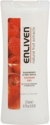 Buy Enliven Raspberry & Red Apple Shower Gel: Body Wash