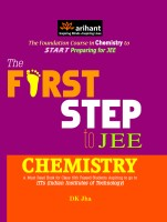 The First Step to IIT JEE: Chemistry: Book