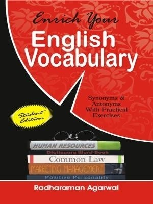 Enrich Your English Vocabulary: Synonyms and Antonyms Whit Practical Exercises 1st Edition price comparison at Flipkart, Amazon, Crossword, Uread, Bookadda, Landmark, Homeshop18