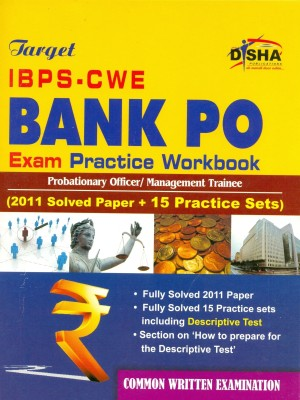 Buy Target IBPS-CWE Bank PO: Probationary Officer/Management Trainee Exam Practice Workbook (2011 Solved Paper + 15 Practice Sets): Book