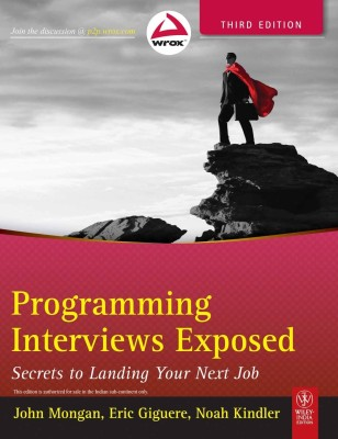 Buy Programming Interviews Exposed: Secrets to Landing Your Next Job 3rd Edition: Book