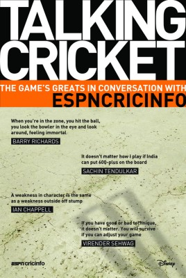 Buy Talking Cricket: The Game's Greats in Conversation with ESPNCRICINFO: Book