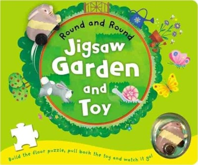Buy Round And Round: Jigsaw Garden And Toy: Book