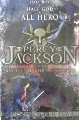 Buy The Percy Jackson and the Battle of the Labyrinth (Book - 4): Book