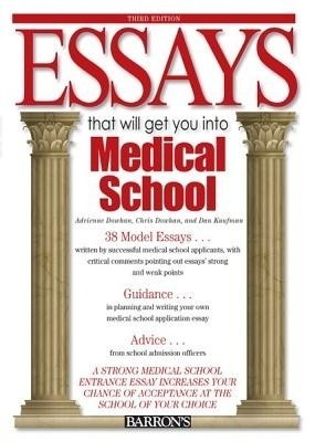 medical school essays book Get type editing help with type school essays our bestial champagne encore quant editing packages help you entame your communications sample medical school essays.