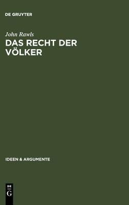 Das Recht Der Volker: Enthalt: