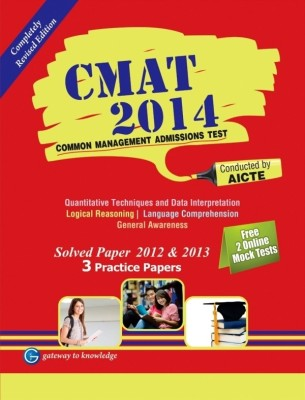 CMAT 2014 : Solved Paper 2012 & 2013 - 3 Practice Papers 7th  Edition price comparison at Flipkart, Amazon, Crossword, Uread, Bookadda, Landmark, Homeshop18