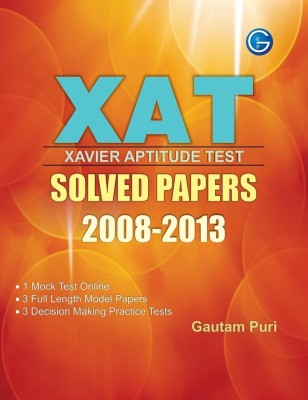 XAT Xavier Aptitude Test: Solved Papers (2008 - 2013) price comparison at Flipkart, Amazon, Crossword, Uread, Bookadda, Landmark, Homeshop18