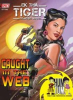 Ek tha Tiger: Caught in the WEB: Book