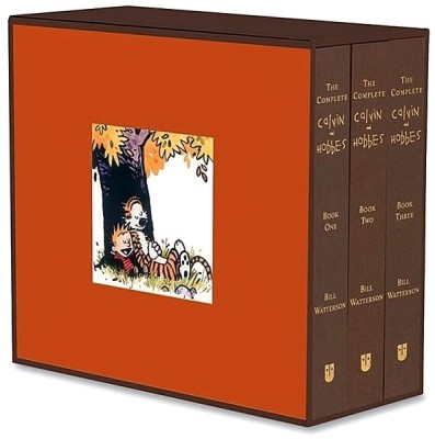 Buy The Complete Calvin and Hobbes (3 Volume Set): Book