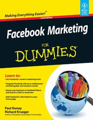 Facebook Marketing For Dummies® 2nd Edition price comparison at Flipkart, Amazon, Crossword, Uread, Bookadda, Landmark, Homeshop18