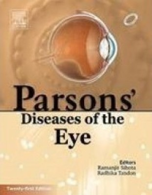 Buy Parsons' Diseases of the Eye 21 Edition: Book