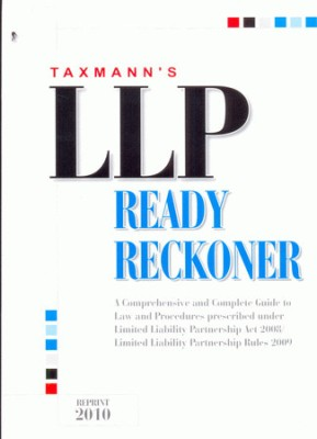 Buy L L P Ready Reckoner: Book