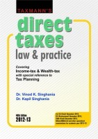 Direct Taxes: Law And Practice 48th Edition: Book