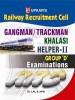 RRC Railway Recruitment Cell: Gangman / Trackman Khalasi Helper - II Group 'D' Examinations