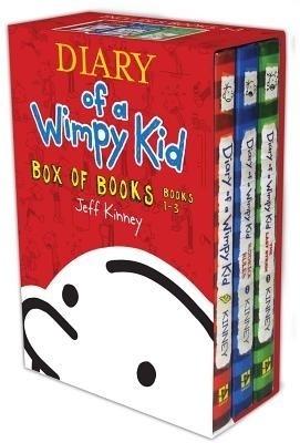 Diary of a Wimpy Kid Box of Books, Books 1-3: Diary of a Wimpy Kid/Rodrick Rules/The Last Straw price comparison at Flipkart, Amazon, Crossword, Uread, Bookadda, Landmark, Homeshop18