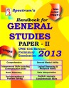 Handbook for General Studies 2013: UPSC Civil Services Preliminary Examination (Paper - 2): Book