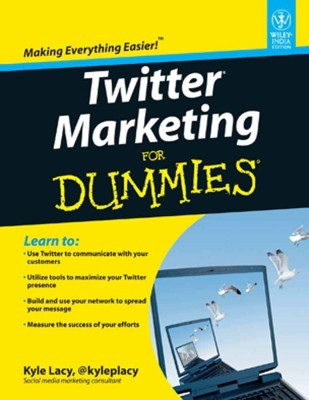 Twitter Marketing For Dummies® 1st Edition price comparison at Flipkart, Amazon, Crossword, Uread, Bookadda, Landmark, Homeshop18