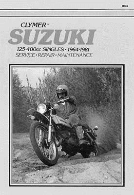 suzuki 125 400cc singles 1964 1981 service repair. Black Bedroom Furniture Sets. Home Design Ideas