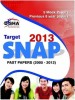 Target -2013 SNAP Past Papers