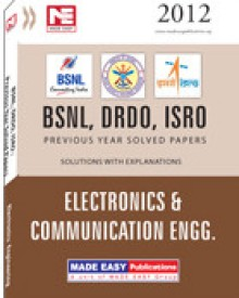 Buy BSNL DRDO ISRO: EC Previous Solved Papers 1st Edition: Book