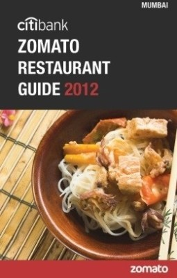 Buy Citibank Zomato Restaurant Guide 2012 (Mumbai): Book