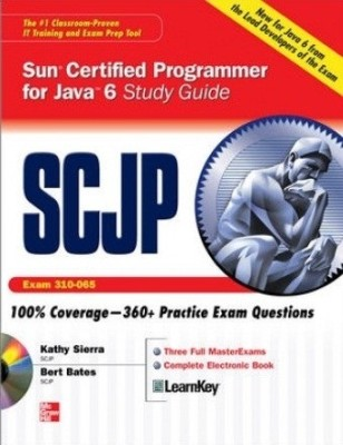 Buy SCJP Sun Certified Programmer for Java 6 Study Exam 310-065 Guide (With CD-ROM) 1st Edition: Book