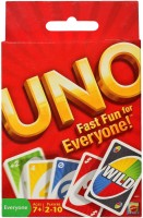 Mattel UNO Fast Fun for Everyone: Card Game