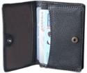 D'hides DCHFK007, 3 Card Holder - Set Of 1, Black