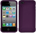 Amzer Case For IPhone 4, IPhone 4S - Purple