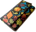 Mad(e) In India Madhubani  Clutch - Black