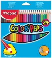 Maped Colorpeps Triangular Shaped Color Pencil: Color Pencil