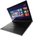Lenovo Ideapad Flex 14 (59-395515) Laptop (4th Gen Ci3/ 4GB/ 500GB 8GB SSD/ Win8/ 2GB Graph/ Touch) - Black With Silver Ring