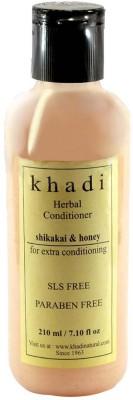 Khadi Shikakai Honey Conditioner - SLS And Parabens Free - 210 Ml