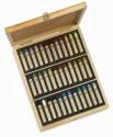 Sennelier Round Shaped Oil Pastel Crayons - Set Of 36, Assorted - CRYDQDDKVBK3UUHU