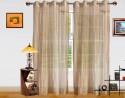 Dekor World Elegant And Exquisite Sheer Window Sheer Curtain - CRNDQAY6EGBBDVCS