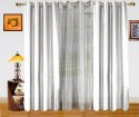 Dekor World Solid And Sheer Combo Window Curtain