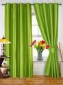 Dekor World Plain Green Door Curtain