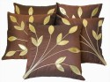 Dekor World Bouquet Of Leaves Cushions Cover - Pack Of 5 - CPCDZZCWM7UZ8YEW