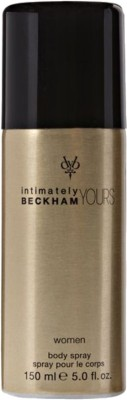 Buy David Beckham Intimately Yours Deo Spray  -  150 ml: Deodorant