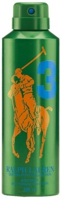 Buy Ralph Lauren Big Pony 3 Deo Spray  -  200 ml: Deodorant