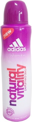 Buy Adidas Natural Vitality Deo Spray  -  150 ml: Deodorant