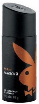 Buy Playboy Miami Deo Spray  -  150 ml: Deodorant
